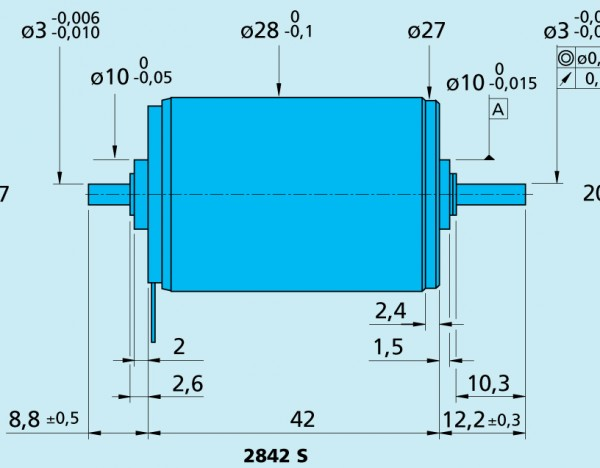 2842S012C Faulhaber Motor